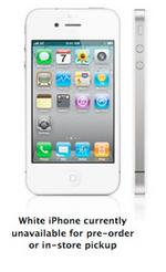 Apple: White iPhone due in spring