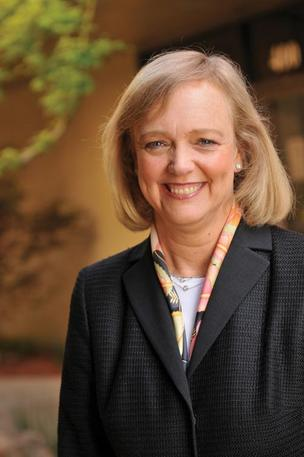 Hewlett-Packard boss Meg Whitman.
