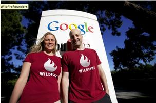 Wildfire Interactive founders Victoria Ransom and Alain Chuard