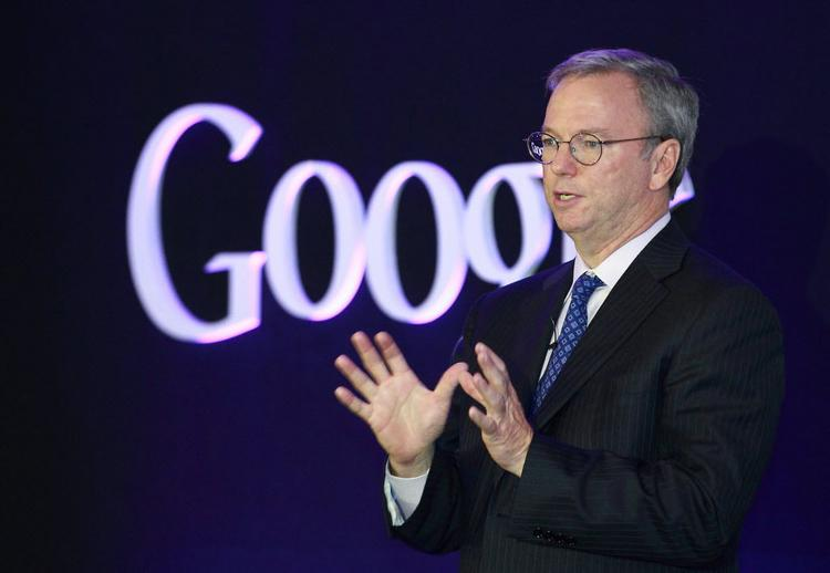 Google Inc.'s executive chairman Eric Schmidt began his visit to several countries in Asia by writing an opinion piece in The Times of India asking the government to focus on how the internet can help its citizens and businesses.