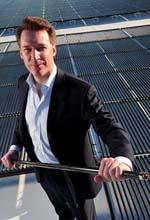 Solyndra founder Chris Gronet to move on