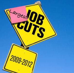 Job cut graphic