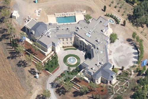 The house, located at 133 La Paloma Road, sold for $100 million in March of last year.