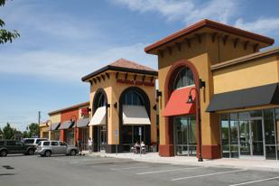 The six-building shopping center currently has seven tenants. A leasing agent confirmed two new leases have been signed.