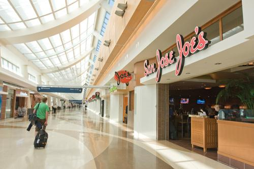 <b>Vicki Thompson</b><br>San Jose Joe's took 2,000 square feet in the airport, while 200 airport staffers will move into 23,000 square feet.