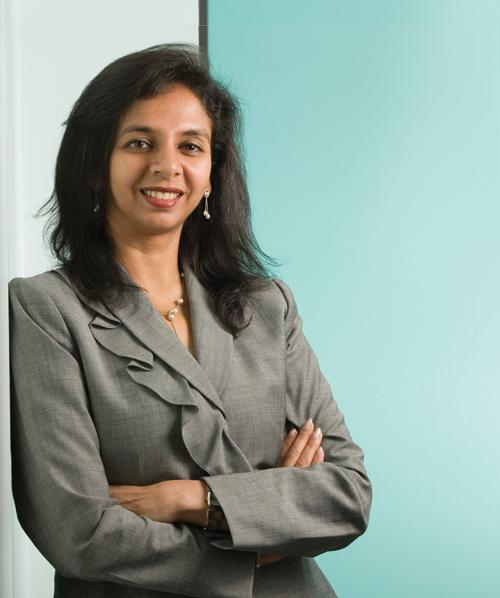 Sameena Ahmed has helped Array establish itself in China and do a public offering in Taiwan.