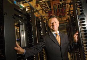 "Steve Smith, CEO of Equinix Inc., says energy improvements at the San Jose site will make the data center ""one of the more efficient in the world."""