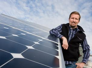 SunPower CEO Tom Werner