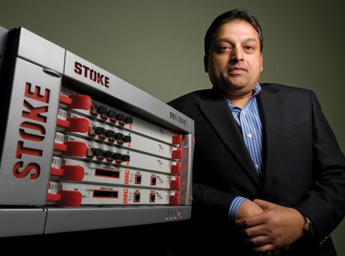 Vikash Varma, CEO of Stoke Inc., says the mobile broadband company plans to open three subsidiaries overseas this year and double its 100-employee head count.