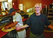 Bracing for a lockout, nearby Amici's East Coast Pizzeria on Santa Clara Street has held off on hiring, said company President Peter Cooperstein, shown here.