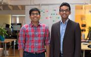 Pulse founders Ankit Gupta, left, and Akshay Kothari moved north for talent.