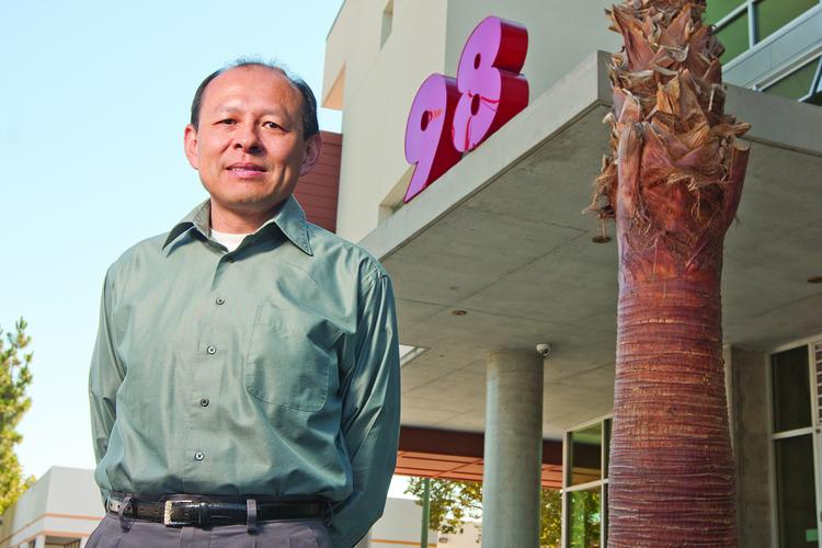 Dan Wu, executive director of Charities Housing, worked on a project that features 300-square-foot apartments.