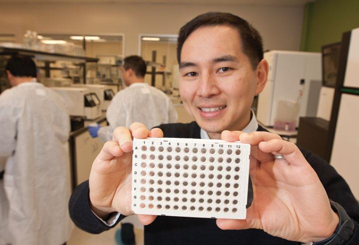 Aria Diagnostics CEO Ken Song, whose company came out of stealth, has a new genetic blood test for pregnant women.
