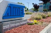 Atmel will relocate its headquarters just 1.5 miles from where it is now, moving into 194,000 square feet.