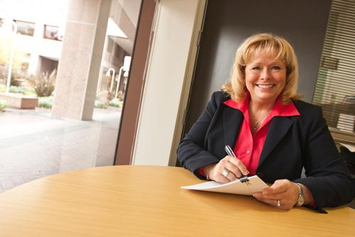 Sharon Fredlund heads the Building Owners and Managers Association of Silicon Valley.
