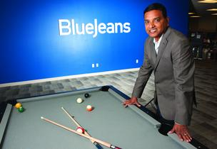 Krish Ramakrishnan, Blue Jeans Network