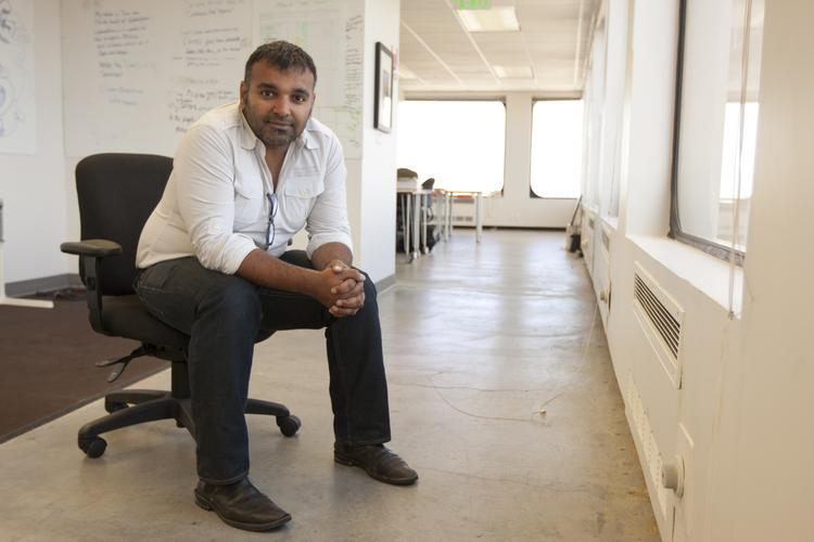 Well connected: Ketan Anjaria, founder and CEO of FlickIt, says there are potentially 500 million customers with address books that could benefit from his Network.