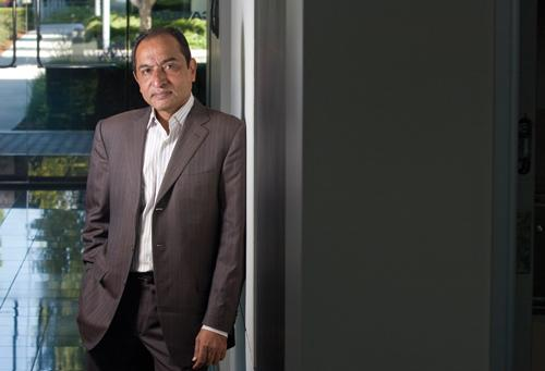 Syed Ali, CEO of Cavium, recently moved the company's headquarters to an approximately 113,000-square-foot building in San Jose.