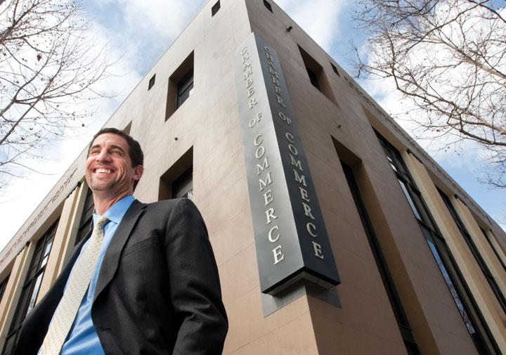 San Jose Silicon Valley Chamber of Commerce President Matt Mahood said his organization might start an economic development corporation to bring business to San Jose.