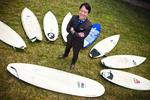 James Chung leases like crazy, but surfs to relax
