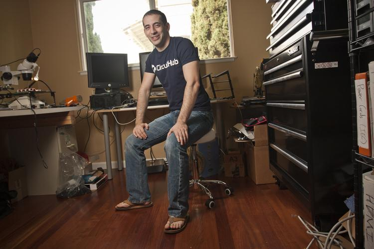 CircuitHub CEO Jonathan Friedman discovered his customers were his neighbors when he moved into San Jose's Alum Rock area.