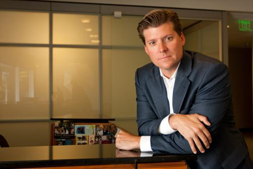 Jeff Cushman, executive managing director at Cushman & Wakefield, is leading his company's expansion in Silicon Valley.