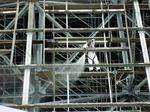 Scaffolding took 2 years to plan, 5.2M lbs of equipment