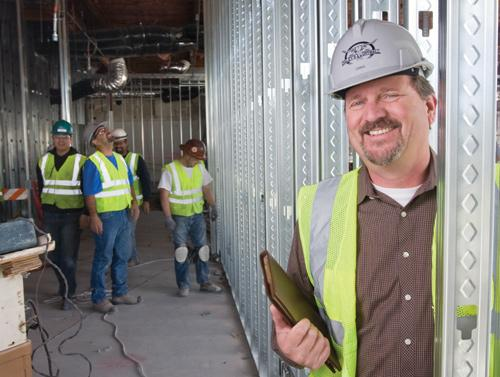 Craig Daley, president of Daley's Drywall and Taping Inc., said his company is seeing more privately financed projects. He has hired back 100 people.