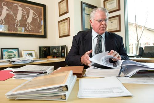 Terry McMahon, partner at McDermott Will & Emery in Menlo Park, started in the IP law field in the mid-1970s, when IP litigation was on the rise. His early successes included trying cases for Apple and Atari.
