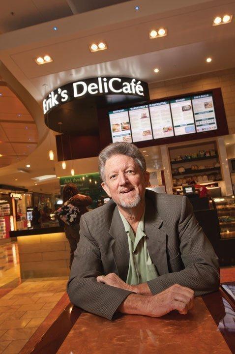 Erik's DeliCafé owner Erik Johnson has big expansion plans for his eatery.
