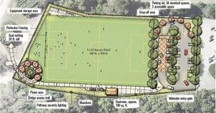 The Town of Los Gatos is gearing up for construction of a new $2.7 million multi-use sports field on University Avenue.