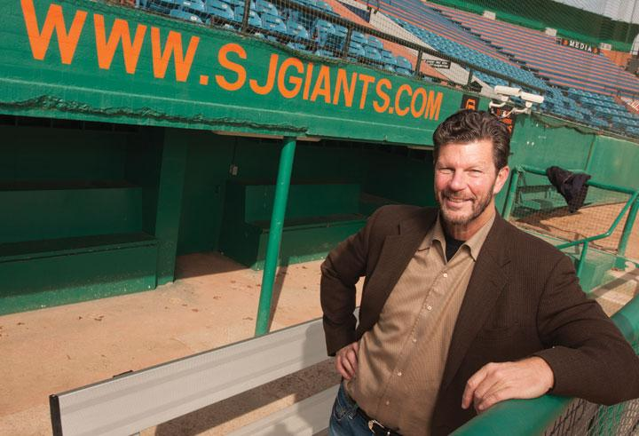 Dan Orum, new president and CEO of the San Jose Giants, plans to use his media business background to build the team's sponsorship and advertisi