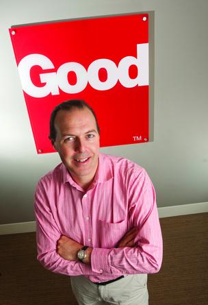 Good Technology Chief Technology Officer Nicko van Someren