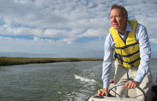 """Water Ways: Jeff Birdwell, president of the commercial division of San Mateo-based Sares Regis Group of Northern California, says development opportunities are as """"simple as the connection between the community and the bay."""""""