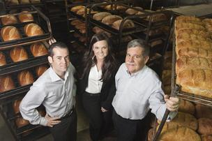 Le Boulanger, Dan Brunello, Jeff and Kristina Brunello