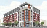 Raintree Partners is preparing to break ground on this housing project at 201 Marshall St. This is the first project approved under the city's new downtown development plan.