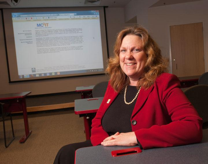 Mission College President Laurel Jones said the school is in talks with Cisco and Intel on the initiative.