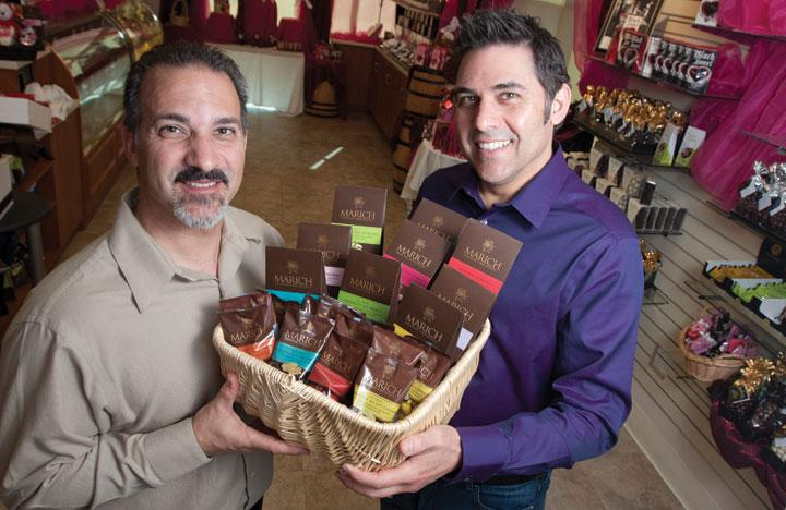 Troy and Brad van Dam look to expand their company beyond its private label manufacturing to further its sweet offerings. Click through the slideshow for a behind-the-scenes look at their chocolate factory.