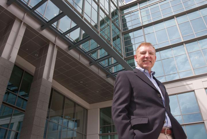 NetApp Vice President of Workplace Resources Thom Bryant said the company is building out its campus to house its increased headcount.