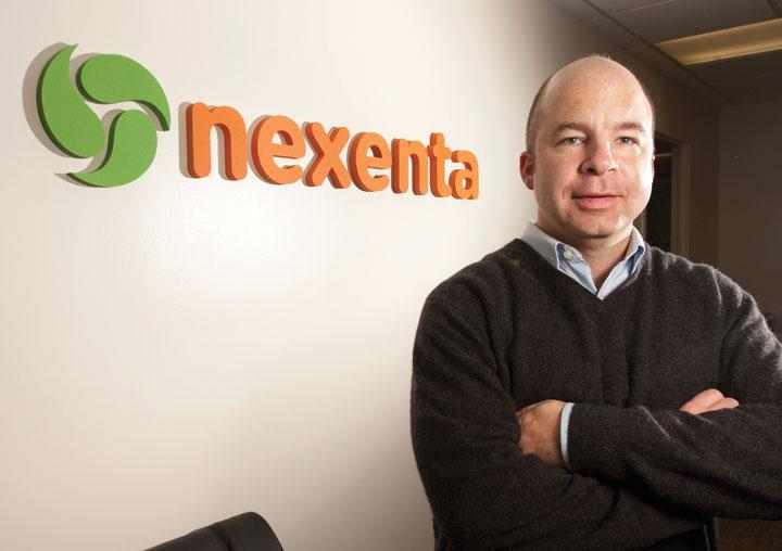 Nexenta Systems CEO Evan Powell said his data storage company is moving to Santa Clara to accomodate staff growth and has plans to open offices in China and London this year.
