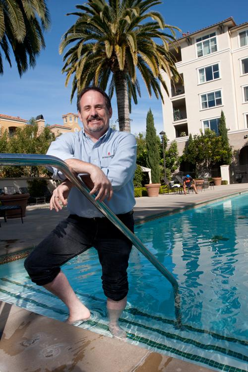 It's Michael Wilcoxen's job to entertain residents – something developers say is key to attracting tenants in today's red-hot rental market.