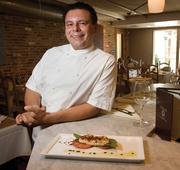 Chef Salvatore Calisi brings a Michelin star and his own private orchard to Odeum.