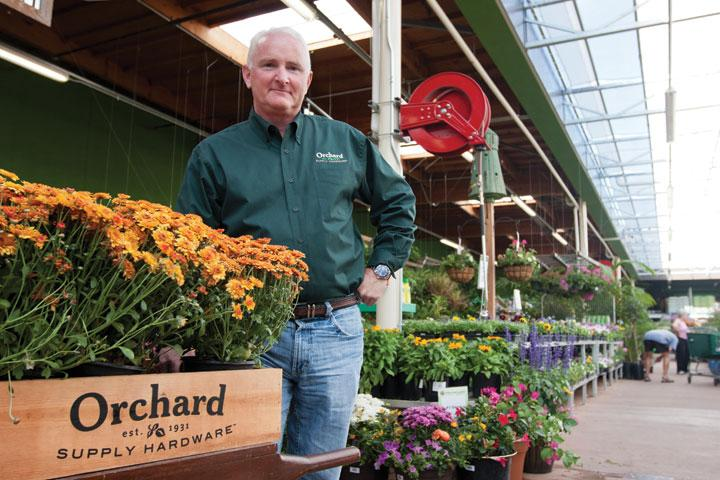 Mark Baker, CEO of Orchard Supply Hardware Stores Corp., said the company plans to add 30 to 40 new stores statewide.