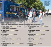 Foodies flock to a recent Moveable Feast off Blossom Hill Road and Highway 85. With Top Food Truck picks.