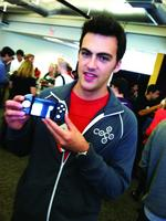 Game buttons on an iPhone? Milkshake has that covered