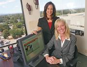 ProTrials owner Jodi Andrews, left, with co-owner Inger Arum, said clinical trials business is bouncing back — so much so that the company recently opened a U.K. 