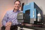 Bioscience winner: Santa Clara-based ProteinSimple recently revolutionized a protein test considered the standard for more than three decades. The Simple Western Assay test is essentially an automated version of the Western Blot test traditionally used to identify pathologies in tissue samples, which means less lab time and faster results. CEO Tim Harkeness is pictured here.