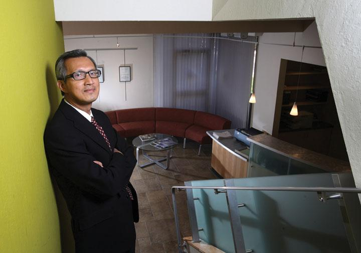 Thang Do, senior principal of AEDIS Architecture and Planning, plans to relocate his firm to an historical building in downtown San Jose that he is in the process of renovating.