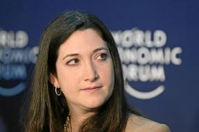 Randi Zuckerberg, sister of Facebook CEO Mark Zuckerberg and founder of Zuckerberg Media.
