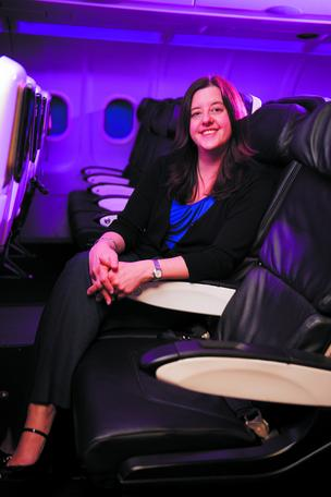 Barbara Russell, Virgin America